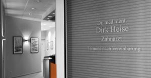 Zahnarzt Heise Trier - Eingang